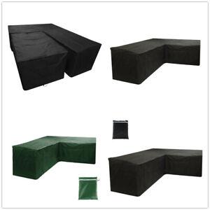 Waterproof-L-Shape-Corner-Sofa-Furniture-Rattan-Cube-Cover-Outdoor-Garden-Patio