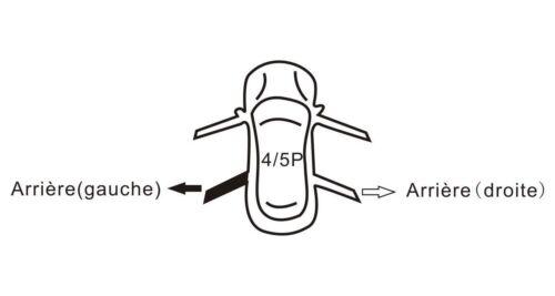 Lève-vitre électrique Arrière Gauche AUDI,A3=05//2003-2016=4Portes 8P4 839 461A