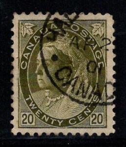 Canada-1898-MER-72-a-timbrato-100-20-C-Regina-Vittoria