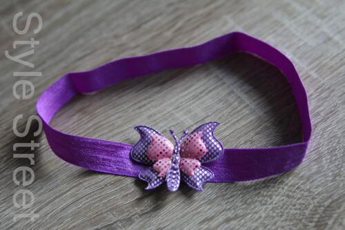Baby Stirnband Mädchen Haarband Schmetterling Kopfband
