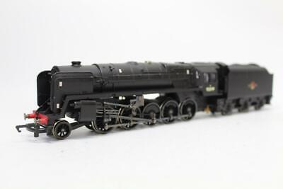 100% Vero Hornby R2244 Br Steam Locomotive Black 9f 92099 Oo Gauge 1/76 Boxed D18