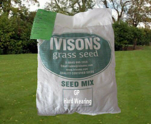 2 KG GRASS SEED QUALITY SEED LUXURY HARD WEARING PLAY AREAS FRONT AND BACK LAWNS