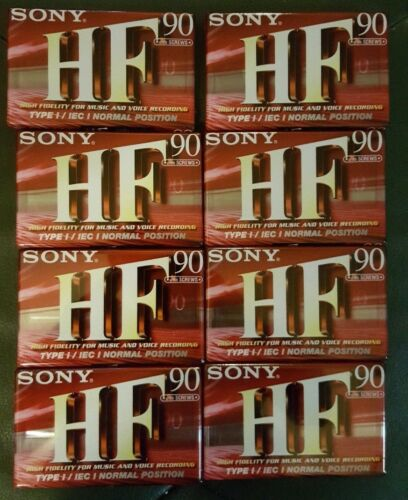 Bulk Buying 8 Sony HF 90 Factory Sealed