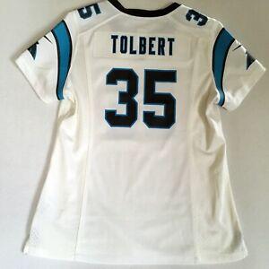 Details about Mike Tolbert #35 Carolina Panthers NFL Nike OnField Jersey Womens Medium M