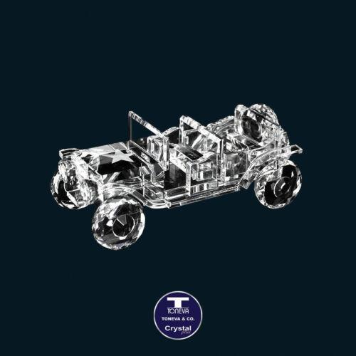 "SPECIAL OFFER /""Jeep/"" Austrian Crystal Figurine was AU$105.00"