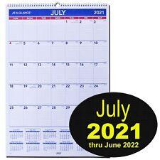 At A Glance Ay3 28 July 2021 155 X 2275 Academic Year Wall Calendar