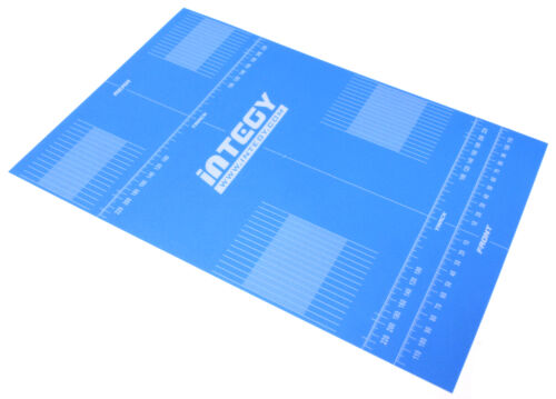 C25823LIGHTBLUE Replacement Plastic Label for Setup Board 14.8x9.9in 1//10 /& 1//12