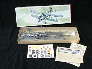 Model-Aircraft-Kit-Plasticart-1-75-AN-2-Orig-Packaging-Construction
