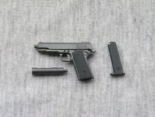 "1:6 Scale Black M1911 Pistol Weapon Model Accessoies For 12""  Figure Toy"