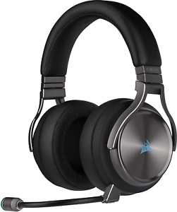 Corsair virtuoso RGB wireless se High-Fidelity Gaming auriculares 7.1 Surround Sound