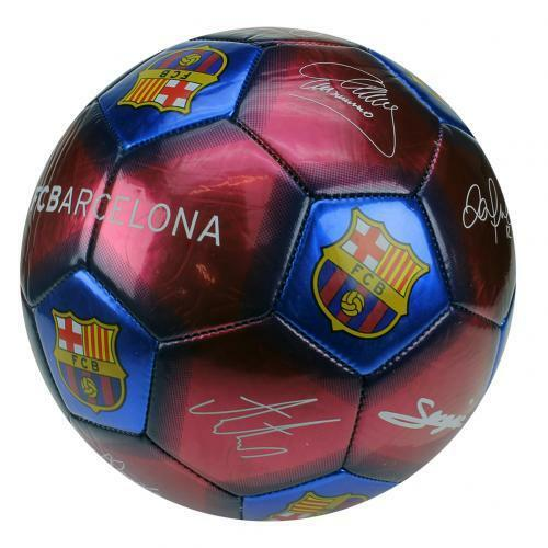 F.C. Barcelona Football Signature SIZE 5 with Ball Pump