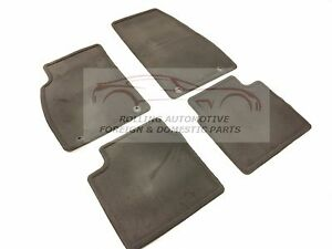 2014 2015 2016 Buick Lacrosse Cocoa Carpet Floor Mats New