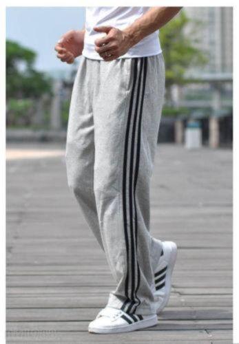Mens Sweatpants Casual Loose Plus Size Sport Trousers Straight Pants XL-5XL @@