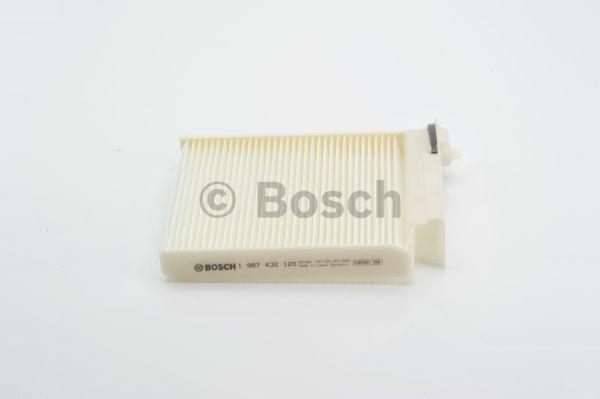 Bosch Filtro de Polen Habitáculo Interior Aire para Renault Clio (Mk3) 1.5 DCI