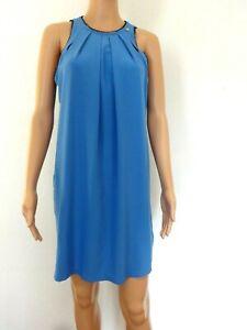 Gaudi 38 Ligera De Verano Sexy Vestido 40 Azul Mujer M Fluido Detalles Talla OkXPTwZliu