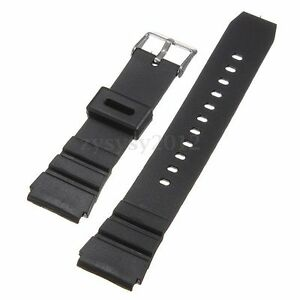 18mm-Unisex-Silicone-Rubber-Pin-Buckle-For-Wrist-Watch-Band-Strap-Black