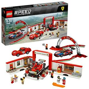 Details about LEGO® Speed Champions , Ferrari Ultimate Garage 75889