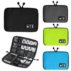 Portable Storage Organizer Bag Case Digital USB Cable Earphone Travel Insert LH