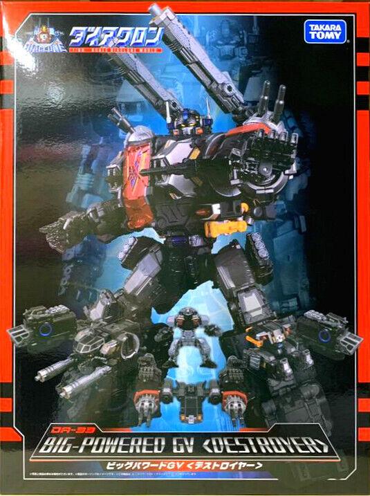 (In-Hand) TAKARA Transformers DIACLONE DA-33 Big Powered GV Destroyer Brand New