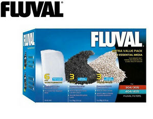 NEW-FLUVAL-MEDIA-VALUE-PACK-FOR-304-305-306-307-404-405-406-407-FILTERS-A1443