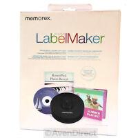 Memorex Cd Dvd Label Maker Kit Professional Design [free Priority Mail]