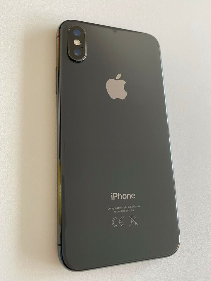 iPhone X sort 64 GB