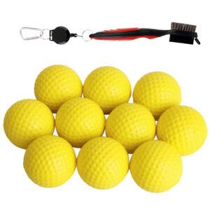 10Pcs-Golf-Practice-Balls-Golf-Club-Brush-Groove-Cleaner-Tool-Accessories