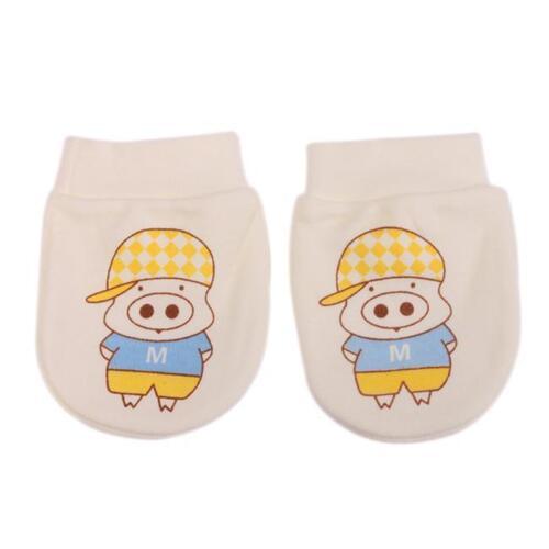 Baby Newborn Cartoon Gloves Anti Grasping Scratch Comfortable Mittens Gloves LH