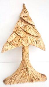 MADERA-PINO-Arbol-forma-tallado-a-mano-Decoracion-Hogar-64-8cm-ALTO