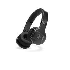 UA Sport Engineered by JBL Wireless On-ear Headphone Built for the Gym, Black