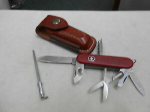 Vintage Swiss Army Victorinox Pocket Knife Multi Tool With