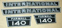 Farmall/international 140 Hood Decals