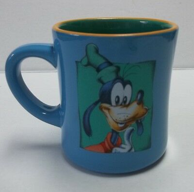 Walt Disney Mickey Mouse GOOFY Dog 12 oz Thick-Walled Colorful Coffee Mug Cup