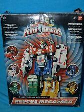 Power Rangers turbo rescue megazord BOXED 100%