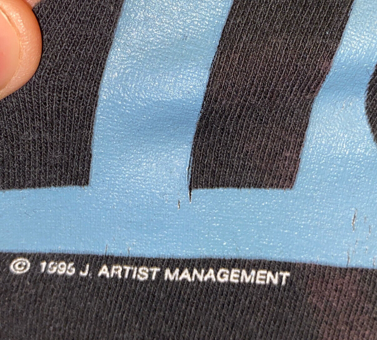 Nine Inch Nails Vintage T Shirt 90's 1996 Concert… - image 3