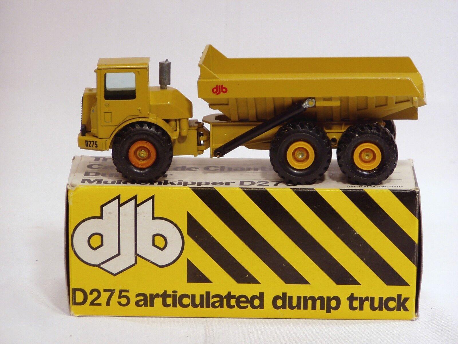 DJB D275 DUMPER  150  NZG  166  N. Nuovo di zecca con scatola