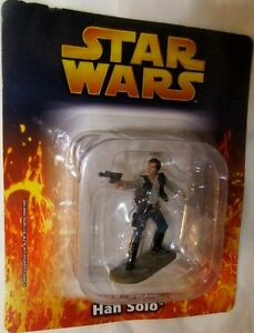 Star Wars 1/32 HAN SOLO Lead Figure DeAgostini - Figure - New