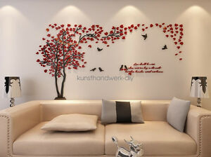 Image Is Loading Decor Art DIY 3D Wall Stickers Living Room