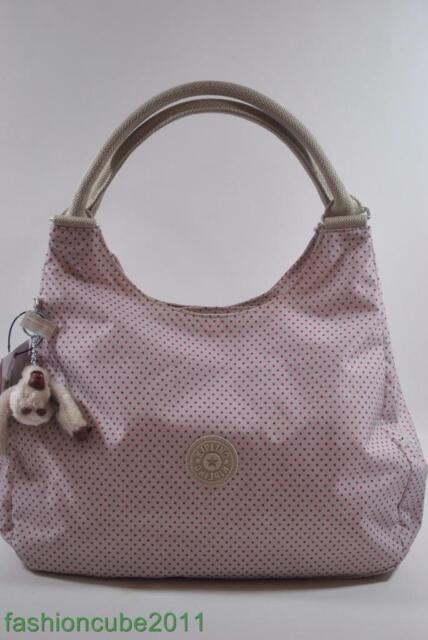 267107cf6 New With Tag Kipling BAGSATIONAL Shoulder Bag HB6406 639 - Fantastic Dot  pink