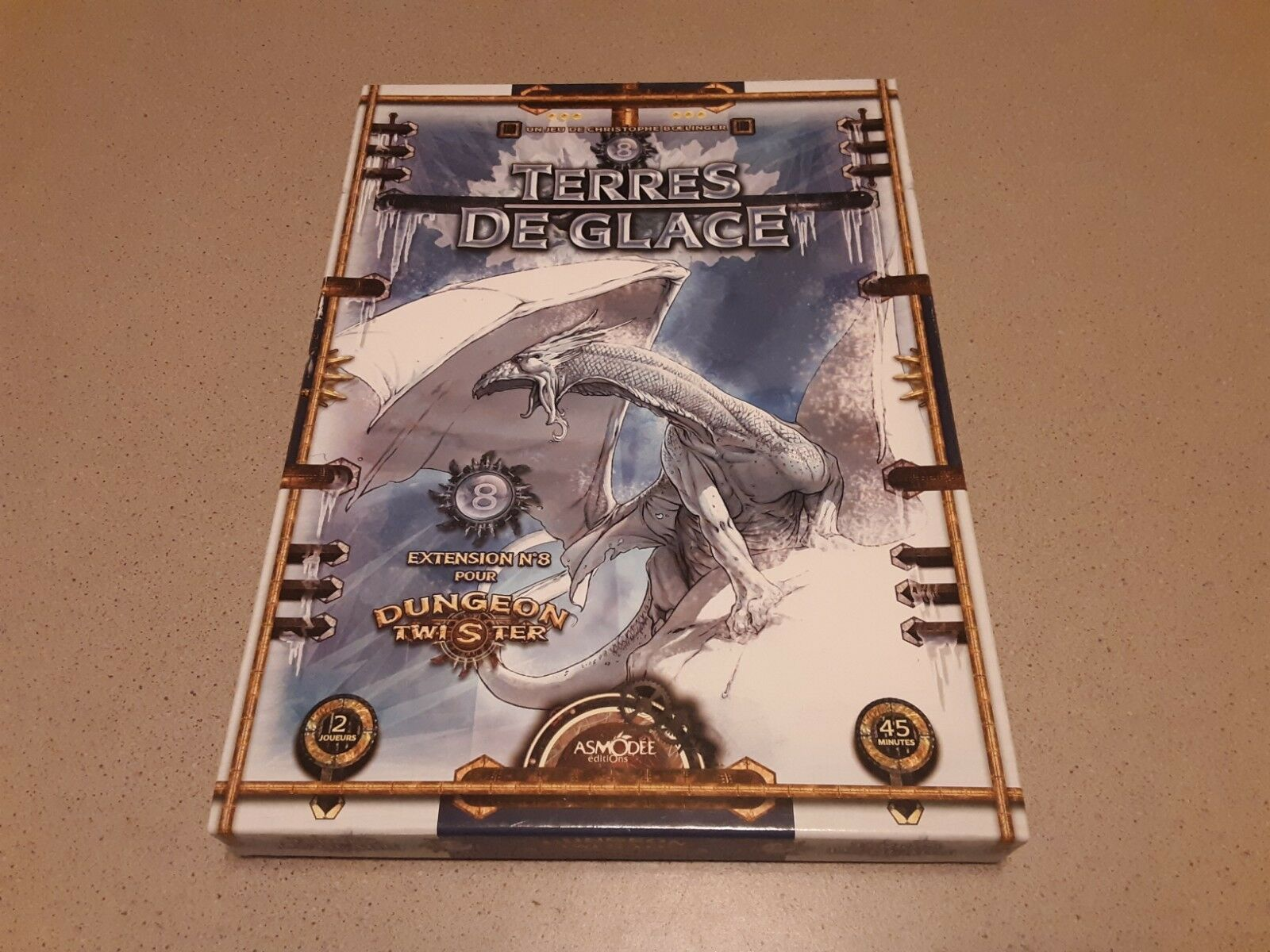 Dungeon Twister  Expansion 8 - Terres De Glace by Asmodee - completare in Great Con  sconto
