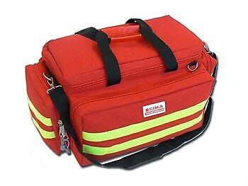 Borsa Smart rossa emergenza primo soccorso 55x35x32 borsone ambulanza GIMA NEW