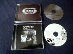 CD Keane - Hopes And Fears (2004) & EP Live Recordings 2004 Bedshaped Allemande