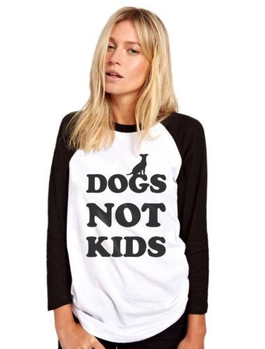 Dog Lover Owner Gift Puppy Walker Womens Baseball Top Dogs Not Kids
