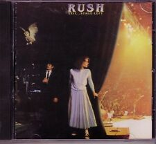 RUSH Exit Stage Left Polygram CD Classic 80s Rock XANADU TOM SAWYER SPIRIT RADIO