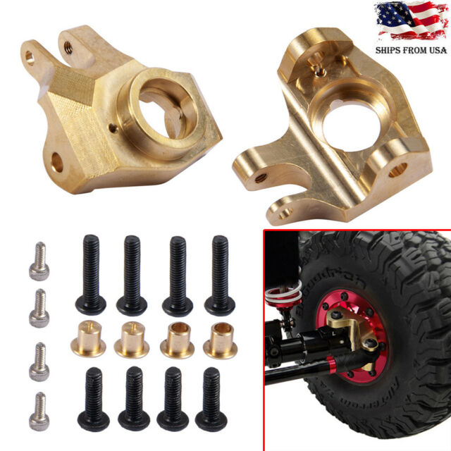 2pcs Heavy Duty Metal Steering Knuckle Portal Cover for Traxxas TRX-4 1//10 RC US