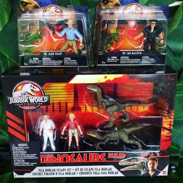 Jurassic Park Legacy Collection Figure Lot Jurassic World set Ellie MULDOON
