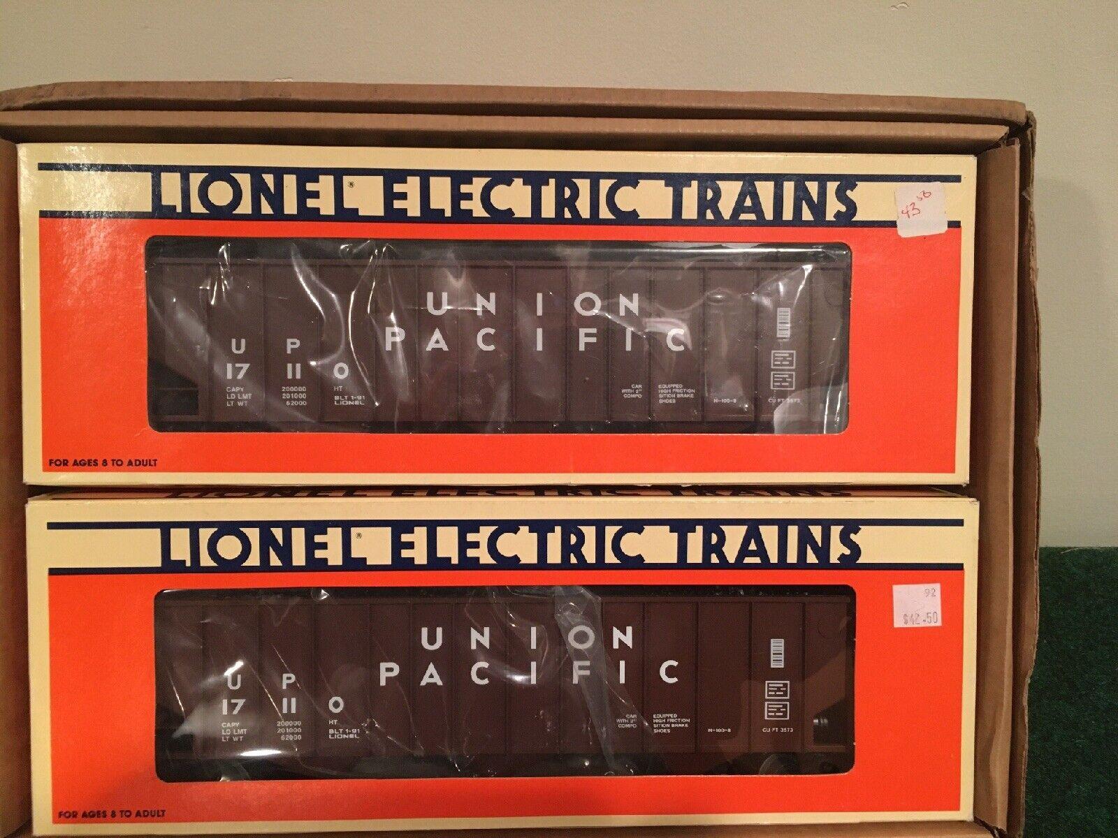 Negozio 2020 Lionel 617110 Union Pacific Threebay hoppers