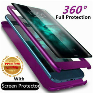 For-Samsung-Galaxy-A10-A20-A30-A50-A70-Note-8-Full-Cover-Case-amp-Screen-Protector