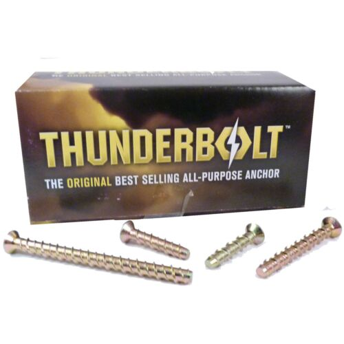 THUNDERBOLT M5 TORX HEAD COUNTER SINK SUNK BOLT MASONRY CONCRETE ANCHOR SCREW
