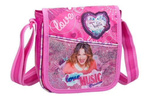 Disney Violetta Girls PREMIUM Backpack Rucksack Travel Bag Lunch Bag School